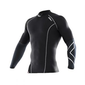 Fitness Mania - 2XU Elite Long Sleeve Compression Top Mens