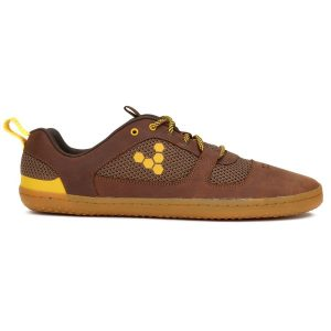 Fitness Mania - Vivobarefoot Aqua 2 Mens Leather Casual Shoes - Tobacco