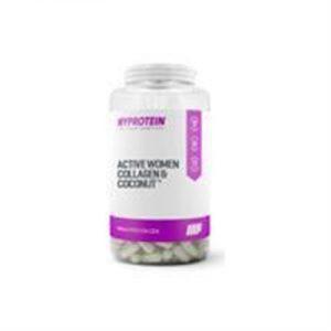 Fitness Mania - Active Woman Collagen & Coconut Capsules - 180 Capsules