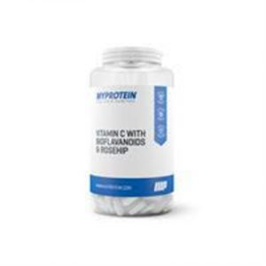 Fitness Mania - Vitamin C with Bioflavonoids & Rosehip - Unflavoured - 180 capsules