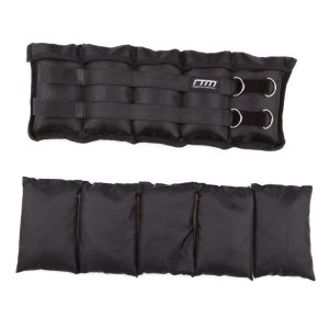 Fitness Mania - 10kg Adjustable Ankle/Wrist Weight Straps - 2 x 5kg