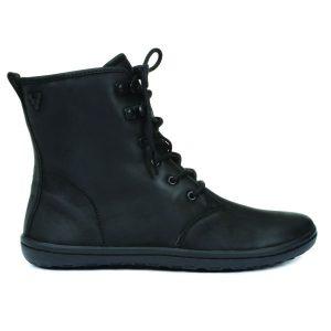 Fitness Mania - Vivobarefoot Gobi Hi Top Leather Womens Boots - Black Hide
