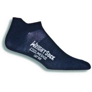 Fitness Mania - Wrightsock Coolmesh II Anti-Blister Tab Running Socks - Black