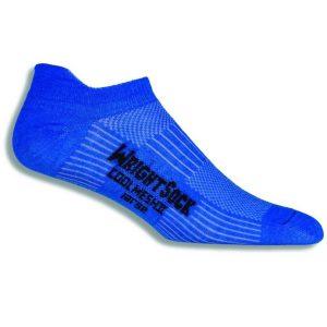 Fitness Mania - Wrightsock Coolmesh II Anti-Blister Tab Running Socks - Blue