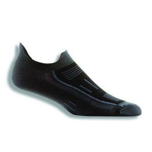 Fitness Mania - Wrightsock Endurance Anti-Blister Double Tab Running Socks - Ash/Black