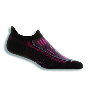 Fitness Mania - Wrightsock Endurance Anti-Blister Double Tab Running Socks - Black/Pink