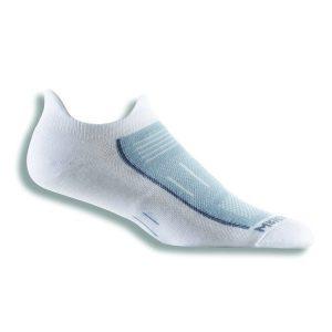 Fitness Mania - Wrightsock Endurance Anti-Blister Double Tab Running Socks - White/Grey