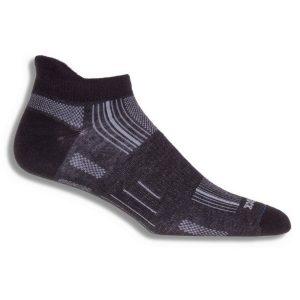 Fitness Mania - Wrightsock Stride Anti-Blister Tab Running Socks - Black