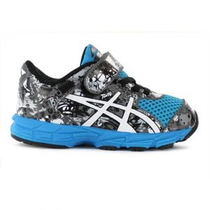 Fitness Mania - ASICS Kids (Boys) Noosa Tri 11 TS Toddler Blue / White / Black