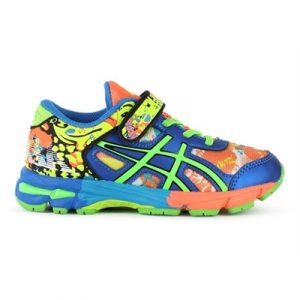 Fitness Mania - ASICS Kids GEL-Noosa Tri 11 PS Safety Yellow / Green Gecko