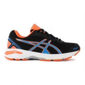 Fitness Mania - ASICS Kids GT-1000 5 GS Black / Blue / Hot Orange