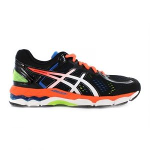 Fitness Mania - ASICS Kids Gel-Kayano 22 GS Black/Hot Orange/Blue