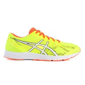 Fitness Mania - ASICS Mens GEL-Hyper Speed 7 Flash Yellow/ White/ Hot Orange