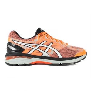 Fitness Mania - ASICS Mens GT-2000 4 Lite-Show Hot Orange / Silver