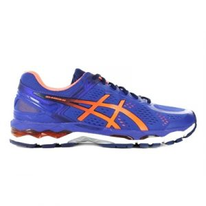 Fitness Mania - ASICS Mens Gel-Kayano 22 Blue/Hot Orange/Indigo Blue