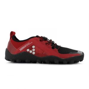 Fitness Mania - VIVOBAREFOOT Mens Primus Trail SG Black / Red