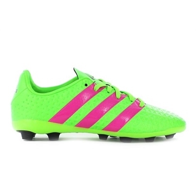Fitness Mania – adidas Kids Ace 16.4 FXG J  Solar Green/Shock Pink/ Black