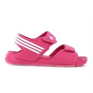 Fitness Mania - adidas Kids Akwah 9 (Toddler) Sandal Pink/White