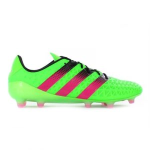 Fitness Mania - adidas Mens Ace 16.1 FG AG Solar Green/Shock Pink/Black