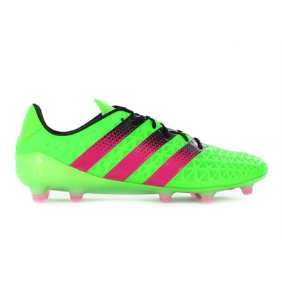 Fitness Mania – adidas Mens Ace 16.1 FG AG Solar Green/Shock Pink/Black