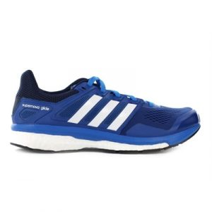 Fitness Mania - adidas Mens Supernova Glide Boost 8 Blue/White/Collegiate Navy