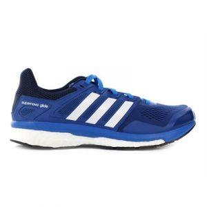 Fitness Mania - adidas Mens Supernova Glide Boost 8 Blue/White/Collegiate Navy
