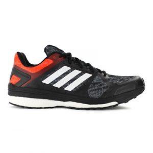 Fitness Mania - adidas Mens Supernova Sequence Boost 9 Core Black / White / Bold Orange