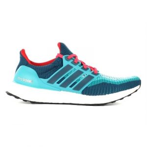 Fitness Mania - adidas Mens Ultra Boost Clear Green/ Mineral/Shock Red
