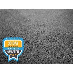 Fitness Mania - VersaFit FatTile High Density Platform Tile - 1m x 1m x 50mm(black)