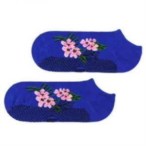 Fitness Mania - Move Active Non-Slip Pilates Socks - Cherry Blossom