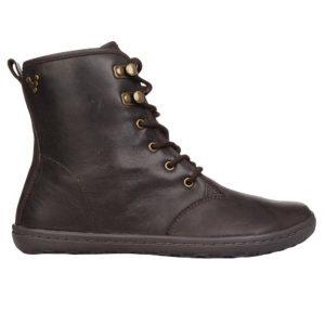 Fitness Mania - Vivobarefoot Gobi Hi Top Leather Womens Boots - Dark Brown Hide