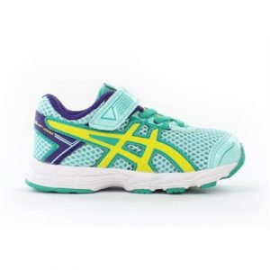 Fitness Mania - ASICS Kids GT-1000 Toddler Ice Blue/Flash Yellow/Emerald