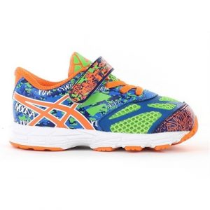 Fitness Mania - ASICS Kids Noosa Tri 10 Toddler Flash Green/Flash Orange/Blue