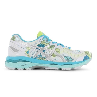 new product d4e00 94896 ASICS Womens GEL-Kayano 23 LE White / Silver