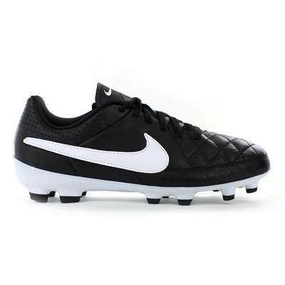 Fitness Mania – NIKE Kids Jr Tiempo Genio Leather FG Black/White/Black
