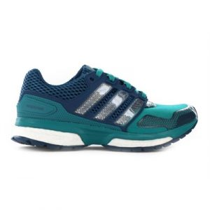 Fitness Mania - adidas Kids Response Boost 2 Techfit Green/White Mineral
