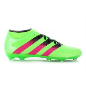 Fitness Mania - adidas Mens Ace 16.2 Primemesh FG AG Solar Green/Shock Pink/Black