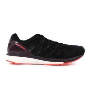 Fitness Mania - adidas Mens Adizero Boston Boost 5 M Black/Mineral Red/Solar Red