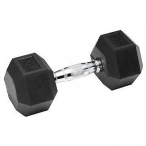 Fitness Mania - York Rubber Hex Dumbbells