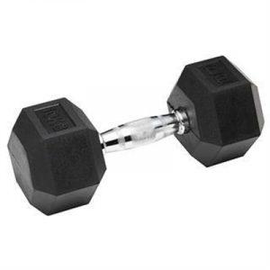 Fitness Mania - York Rubber Hex Dumbbells