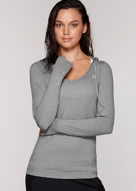 Fitness Mania – Abbey Hooded Excel L/Slv Top