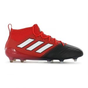Fitness Mania - adidas Mens ACE 17.1 Primeknit FG Red / White