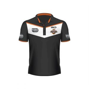 Fitness Mania - Wests Tigers Players Polo  2017