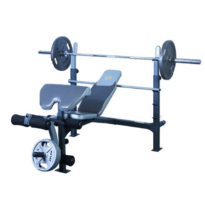 jx191 light commercial olympic bench press with fully