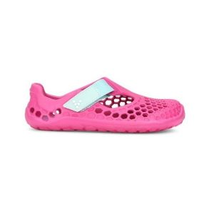 Fitness Mania - Vivobarefoot Ultra Kids Girls All-Terrain Shoes - Pink
