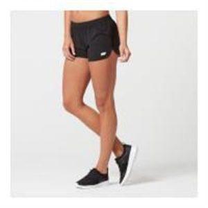 Fitness Mania - Myprotein Women's 4 Way Stretch Shorts - Black - M