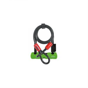 Fitness Mania - ABUS Ultra U-Bolt 410-230 Lock with 120cm cable