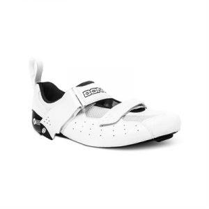 Fitness Mania - Bont Riot Triathlon Microfibre Shoe White/Black