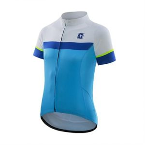 Fitness Mania - Cell Bianco Azzurro Jersey