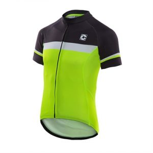Fitness Mania - Cell Nero Fluo Cycling Jersey (Hi-Viz / Look good. Be seen.)